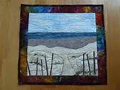 Crooked Gulley Art Quilts: Beach Quilt