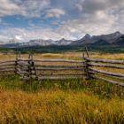Split Rail Fence on Last Dollar Road
