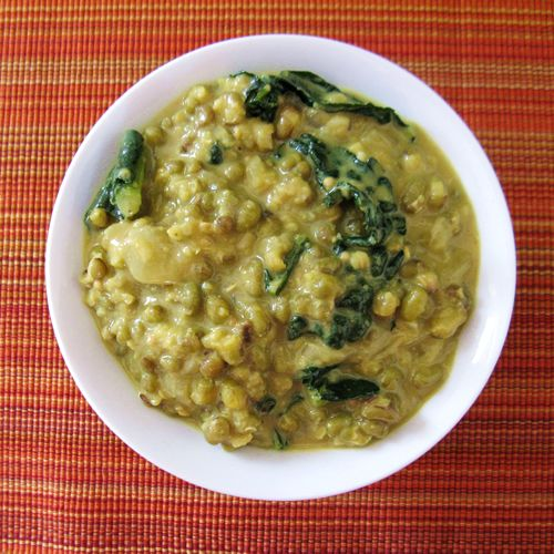 Coconut Mung Bean Stew with Kale... (from www.buddinglotusbody.com ...