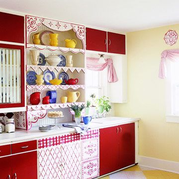 yellow kitchens yellow and red on pinterest