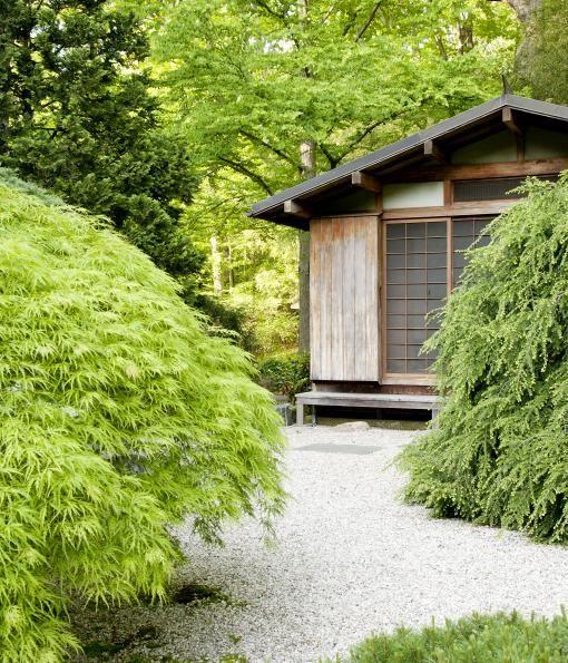 pea gravel walk Garden Design garden Pinterest