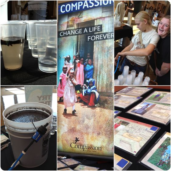 85 sponsored children and 279 water filters purchased for @compassion. Well done @stonecreektweet!