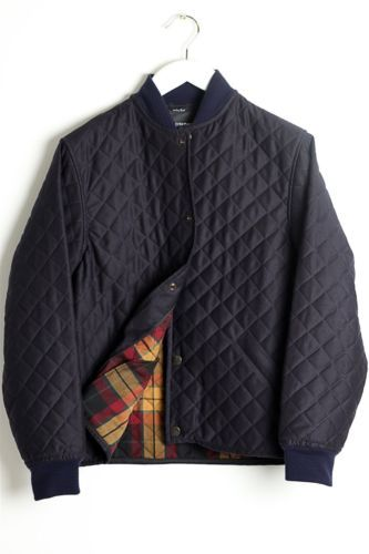 D s Dundee Quilted Jacket Navy Size 40 Barbour Filson Lavenham Norse Projects | eBay