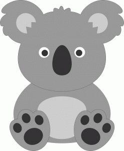gallery for koala bear face clip art. Black Bedroom Furniture Sets. Home Design Ideas