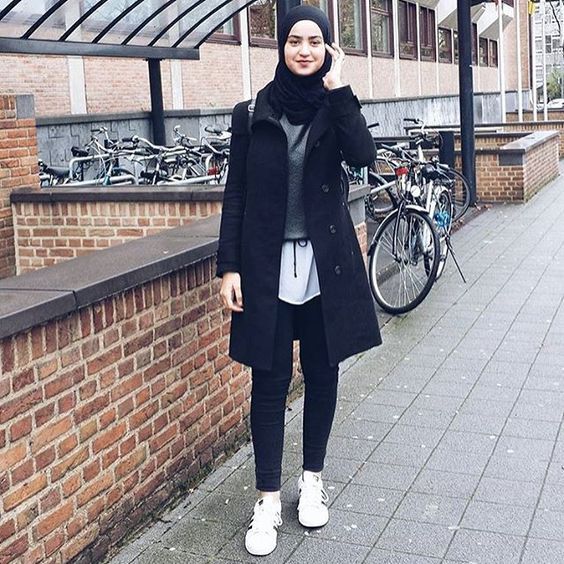 Ootd Hijabs And Fashion On Pinterest