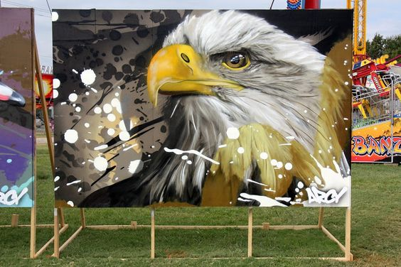 Freedom, Memphis, TN. From Graffiti Artist ARCY