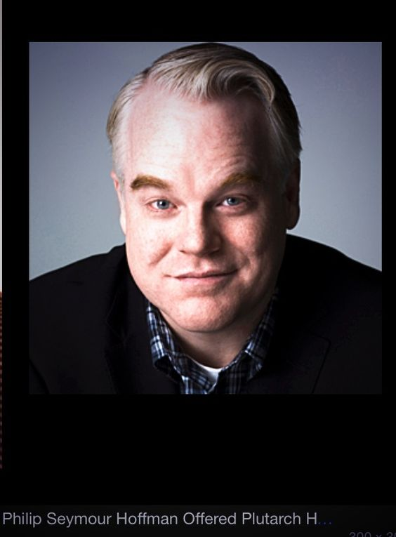 Philip Seymour Hoffman. What a loss of a great talent today. R.I.P.