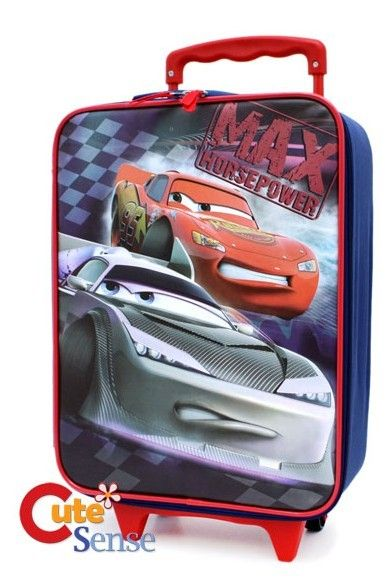 Disney Cars Mcqueen Rolling Luggage