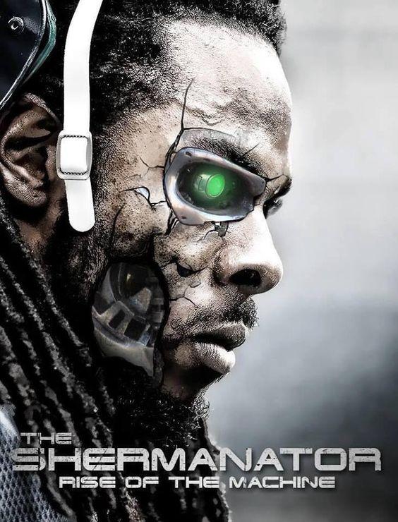 The REAL Shermanator digital artwork, created by ??