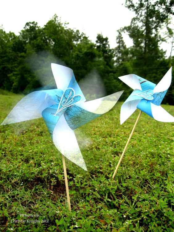 Pinwheels by ~starlachris on deviantART