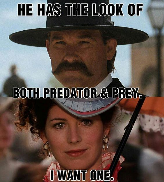 Doc Holliday Quotes From The Movie Tombstone: Hehehhe Love This Show....and This Is A Chick With Lots Of
