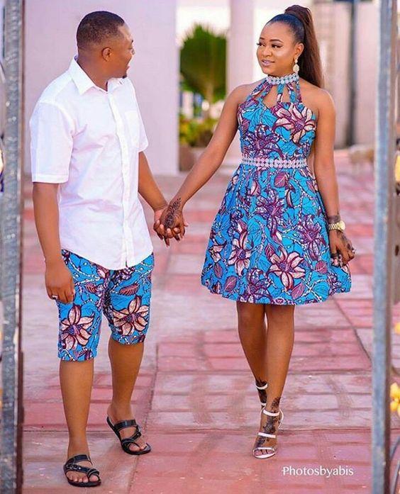 10 Ankara Styles for the best Pre-wedding Shoot - INFORMATION NIGERIA