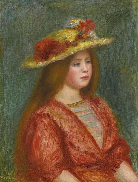 renoir, pierre-auguste femme au cors | figures | sotheby's n09498lot3zwm6en: