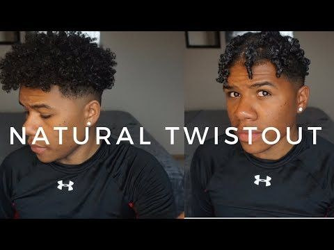 Mens Twist Out Routine Naturally Curly Hair Tyler Nelson Youtube Natural Hair Men Curly Hair Styles How To Twist Hair