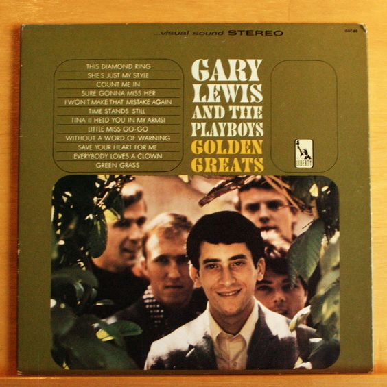GARY LEWIS AND THE PLAYBOYS Golden Greats Vinyl LP Everybody loves a Clown RARE