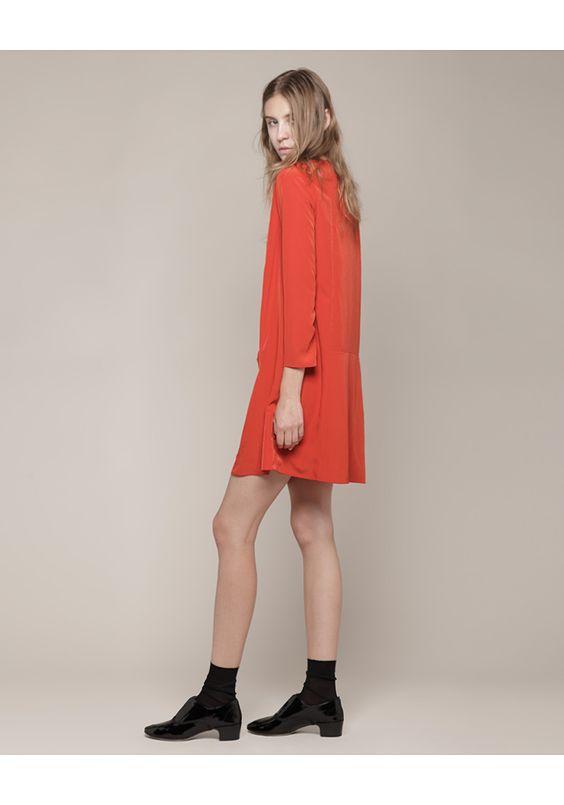 Cacharel / Long Sleeve Dress