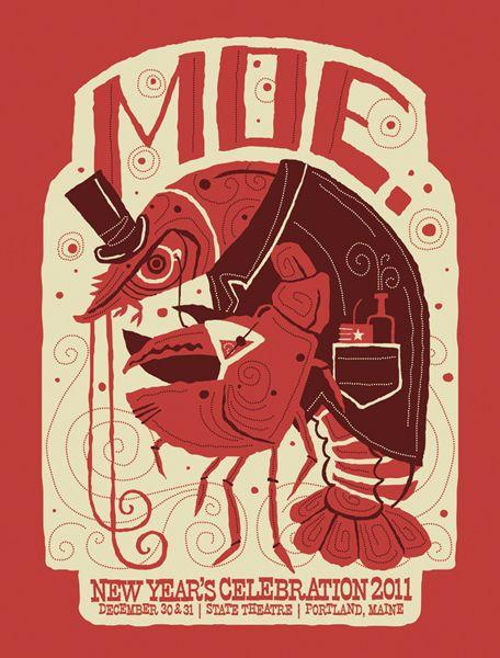 Inspiração, Cartazes de Rock: Moe.