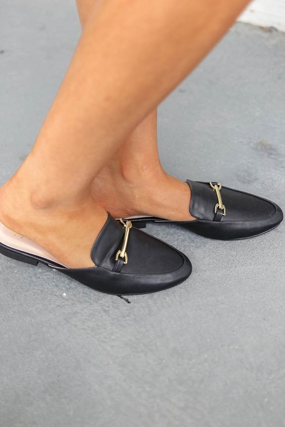 Luxurious Days Black Loafers - Amazing Lace