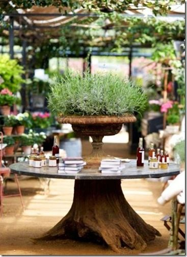 Petersham nurseries another love of mine, garden fresh food, mixed with antique finds and gardening delights