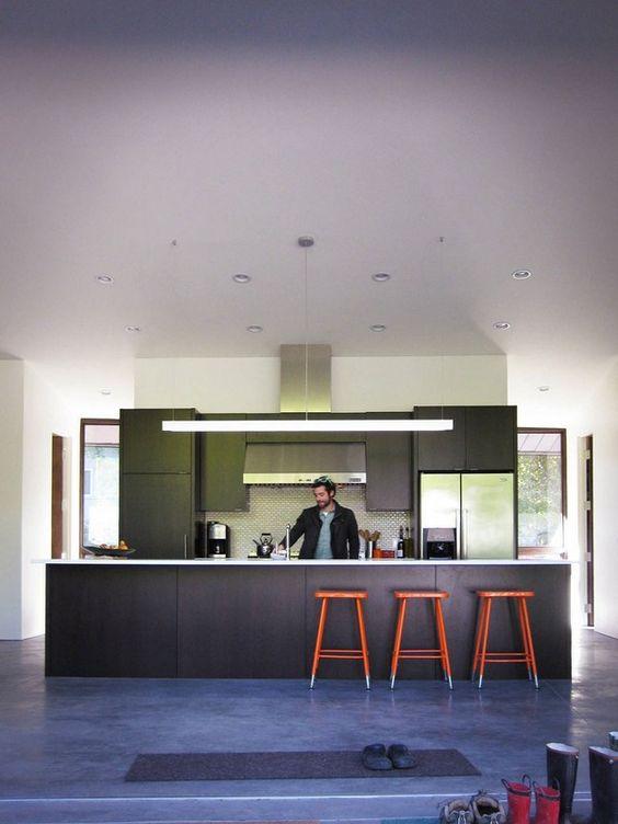 Single Level Haus - schöne Küche Interieur