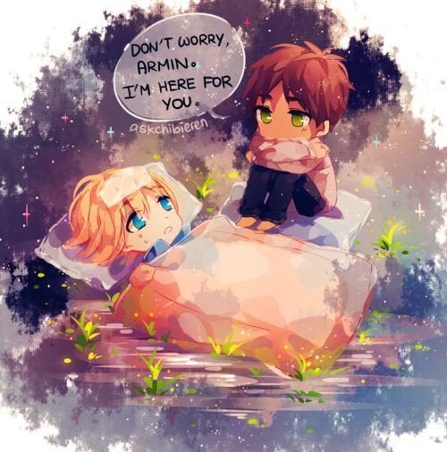Armin x Eren (Shingeki no Kyojin)