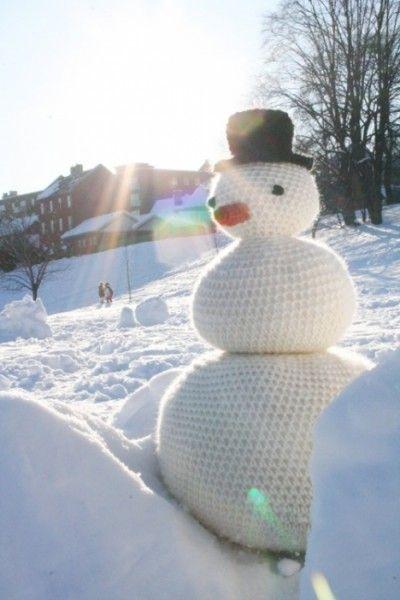 snow crochet