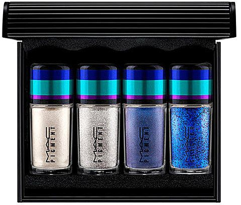 MAC Irresistibly Charming Pigments and Glitter - Blue
