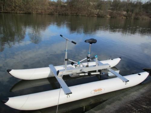 Neues Wasserfahrrad Waterbike Propeller Tretboot Schlauchboot In Baden Wurttemberg Winterbach Schlauchboote Kaufen Tretboot Schlauchboot Schlauchboote