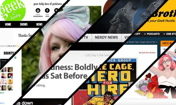 5 Geek blogs to get your nerd on - 5 cool geek blogs from fashion to gadgets!