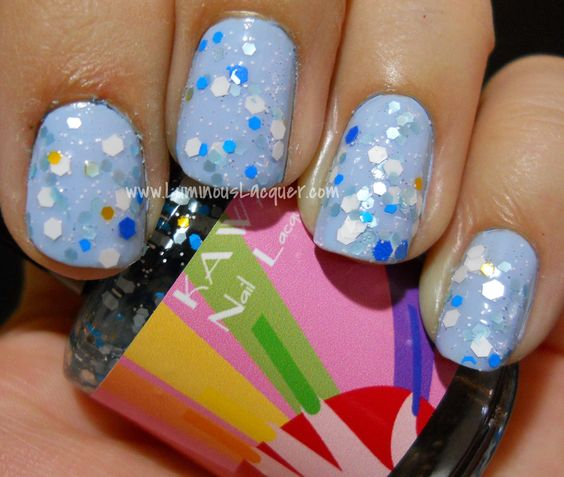 Kawaii Nail Lacquer - Sailor Mercury