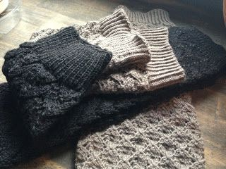 Autumn Hill Llamas & Fiber: Knitting Pattern #2: Horseshoe Lace Legwarmers