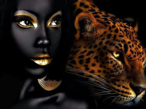 Absolutly loveee this Beautiful Black Art.