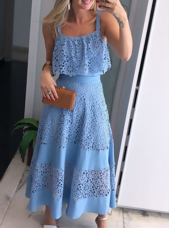 58 Adorable Summer Dresses Every Girl Should Have outfit fashion casualoutfit fashiontrends
