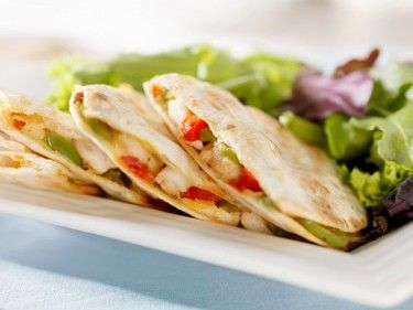Chicken Quesadilla  100% Taste, 0% Guilt!