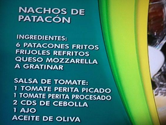 Nachos de patacon