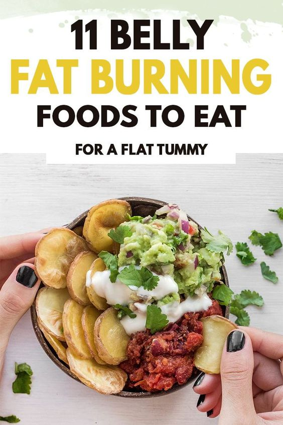11 Belly Fat Burning foods to eat now!
