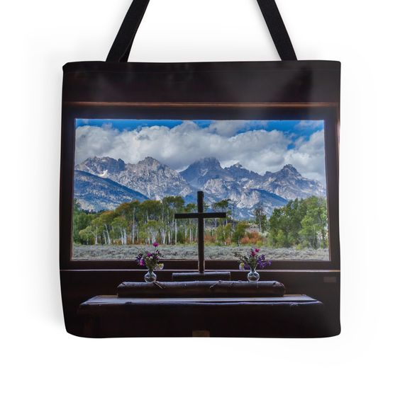 """""""Inside Looking Out"""" Tote Bags by Debra Martz 
