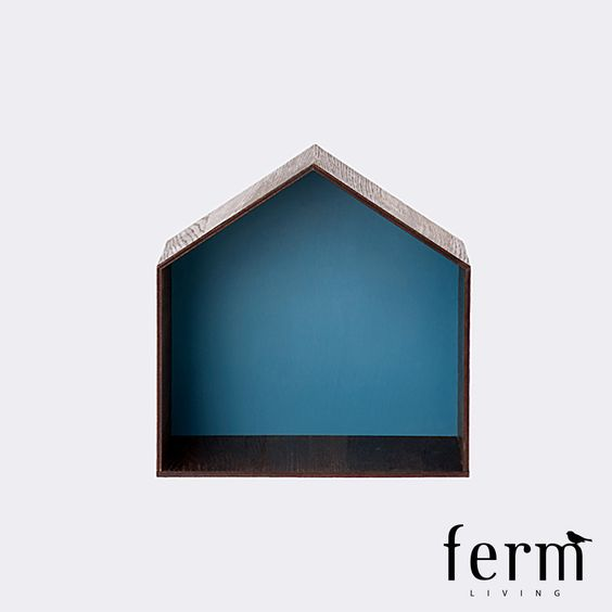 Ferm Living Skyline Studio 1 Blue available at LoftModern.com