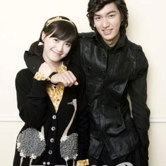 Geum Jandi & Goo Jun Pyo (cute Couple In Boys Over Flowers