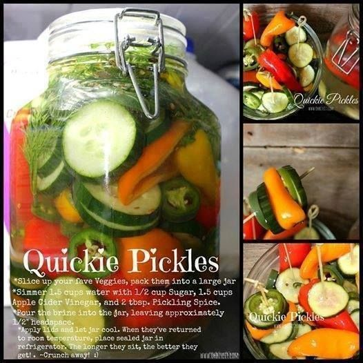 QUICKIE PICKLES!