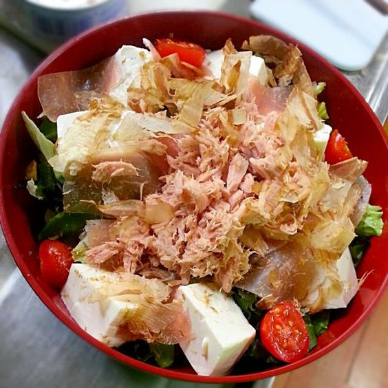 野菜たっぷりです♪ - 11件のもぐもぐ - サラダ♡ by r12733032234945