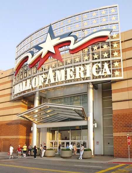 Mall of America (Bloomington, Minnesota)  Over 500 stores..Biggest indoor theme park.  7 acre complex...4 levels .......WOW: