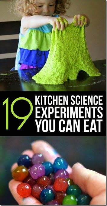 19 edible kitchen science experiment awesome list of science projects