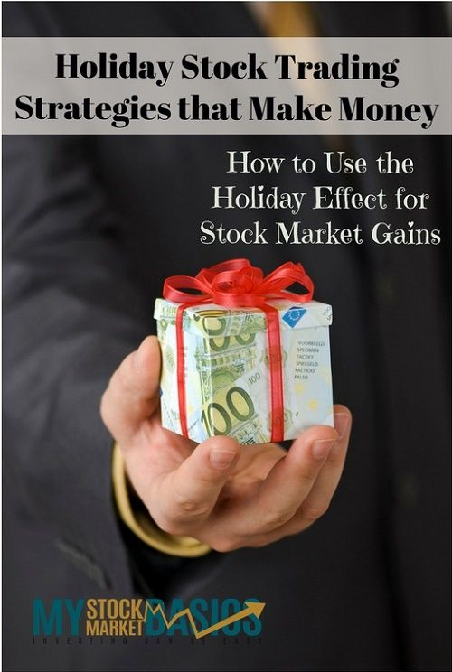 Holiday Stock Trading Strategies That Make Money With Images
