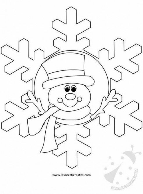 Kidswoodcrafts Christmas Coloring Sheets Christmas Coloring Pages Winter Crafts