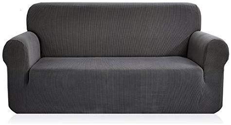 Amazon Com Chun Yi Jacquard Covers 1 Piece Polyester Spandex Fabric Slipcover Xl Sofa Gray Home Kitchen Slipcovered Sofa Slipcovers Couch Covers