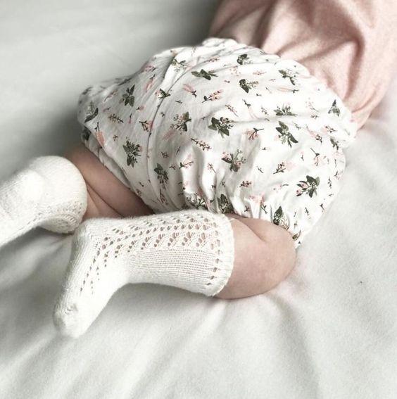 Handmade Blossom Floral Baby Bloomers | MiyaAndMa on Etsy
