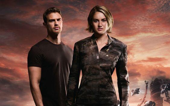 Divergent Series Allegiant Four and Tris Wallpaper HD 2560x1600