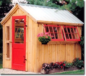 Greenhouse Shed Cottage Barn Kit Plans Hobby Farm Ideas
