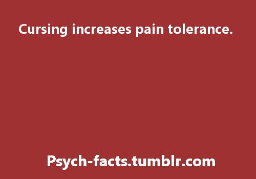 I guess my tolerance must be pretty high then...